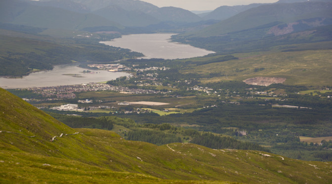 Nevis Mountain Range (The Goose)