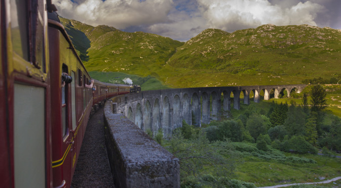 The Jacobite (Harry Potter) Train