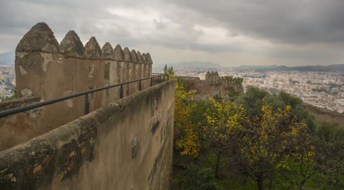 Castillo de Gibralfaro, Malaga, Spain