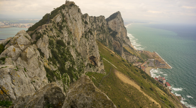 Douglas Lookout & Ape's Den, Upper Rock, Gibraltar, UK
