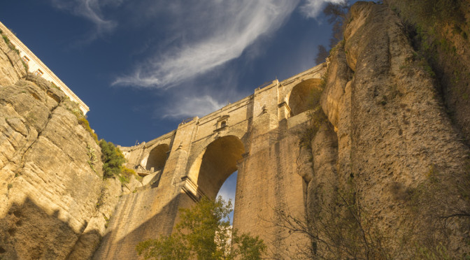 Hike into the Tajo Canyon, Ronda, Spain