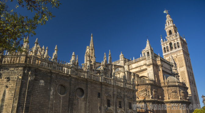 Cathedral de Seville and Giralda Tower, Seville, Spain