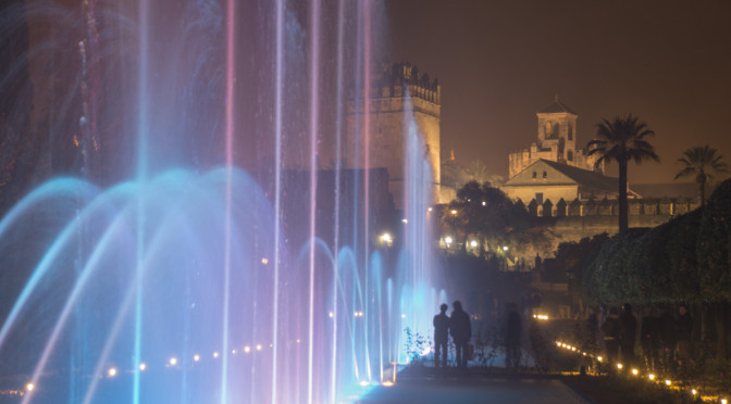 Light and Water Show, Cordoba, Spain