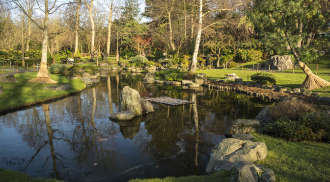 Holland Park Kyoto Garden, London, England