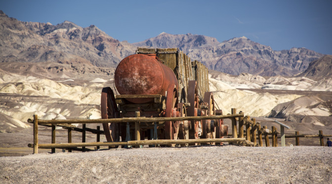 Harmony Borax Works, Death Valley, CA