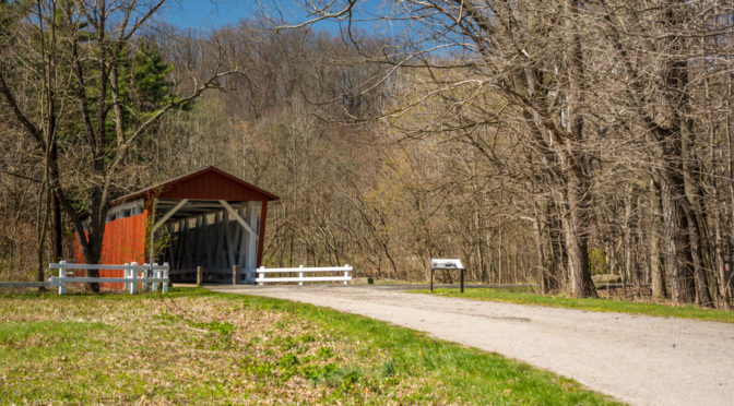 Everett Road Covered Bridge, Cuyahoga Valley National Park, Ohio