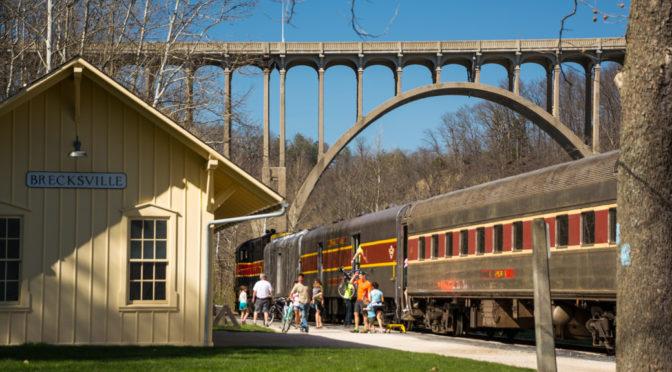 Brecksville Station Road Bridge Trail, Cuyahoga Valley National Park, Ohio
