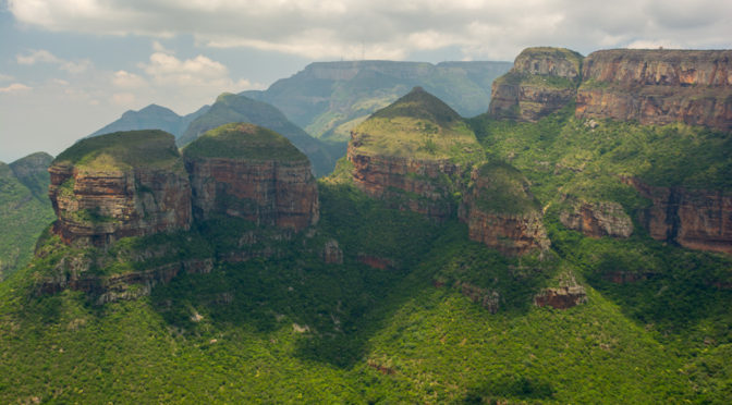 Three Rondavels, Panoramic Route, Mpumalanga, South Africa