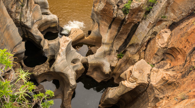 Bourke's Luck Potholes, Panoramic Route, Mpumalanga, South Africa