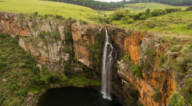 Berlin Falls, Panoramic Route, Mpumalanga, South Africa