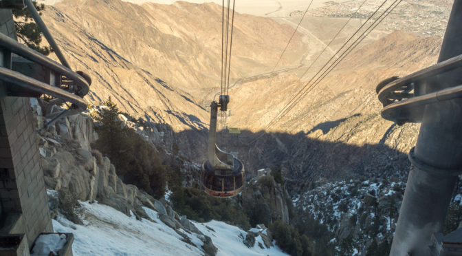 Mt San Jacinto Aerial Tramway, Palm Springs, California, USA