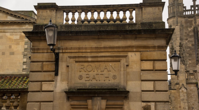 The Roman Baths, Bath, England, United Kingdom