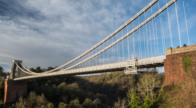 Clifton Suspension Bridge, Bristol, England, United Kingdom