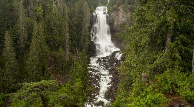 Alexander Falls, Whistler, British Columbia, Canada