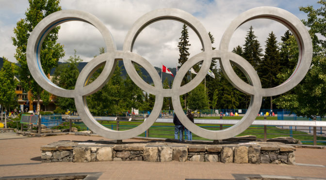 Whistler Olympic Plaza, British Columbia, Canada