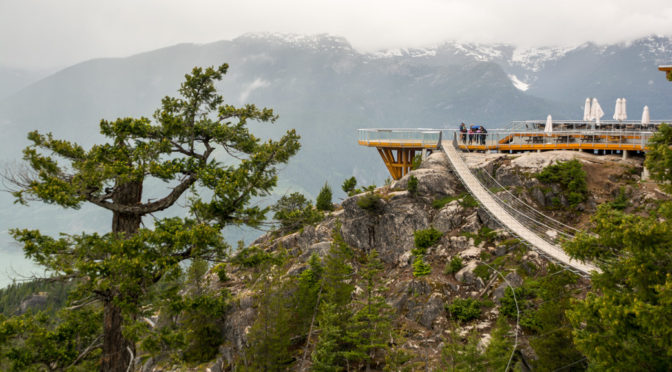 Sea To Sky Gondola, Squamish, British Columbia, Canada