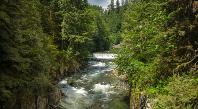 Capilano River Hatchery, Vancouver, British Columbia, Canada