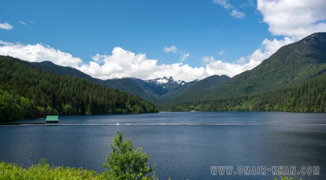Cleveland Dam, Capilano Lake, Vancouver, British Columbia, Canada