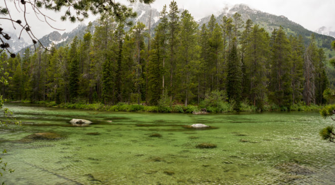 Leigh Lake Trail, Grand Teton National Park, Wyoming