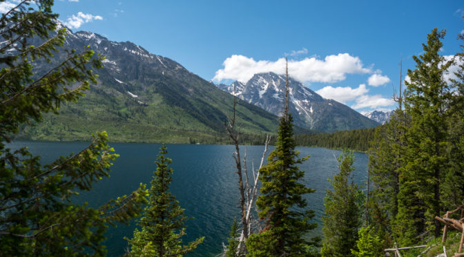 Jenny Lake Overlook, Grand Teton National Park, Wyoming