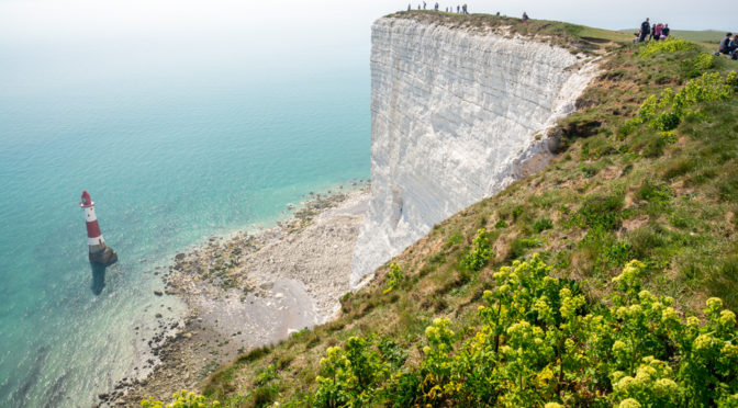 Beachy Head, Eastbourne, England, UK