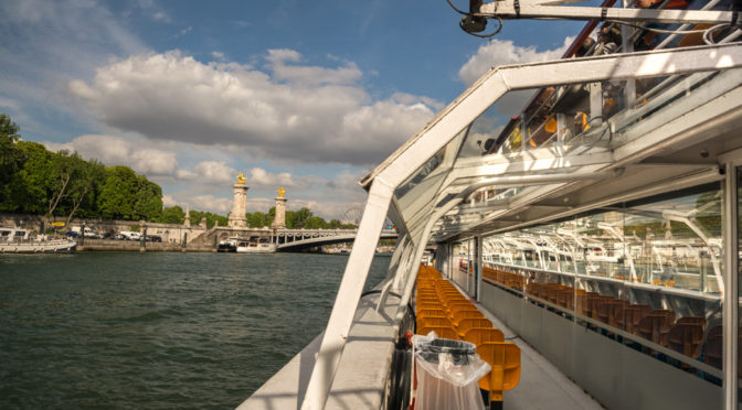 La Seine Boat Tour, Paris, France
