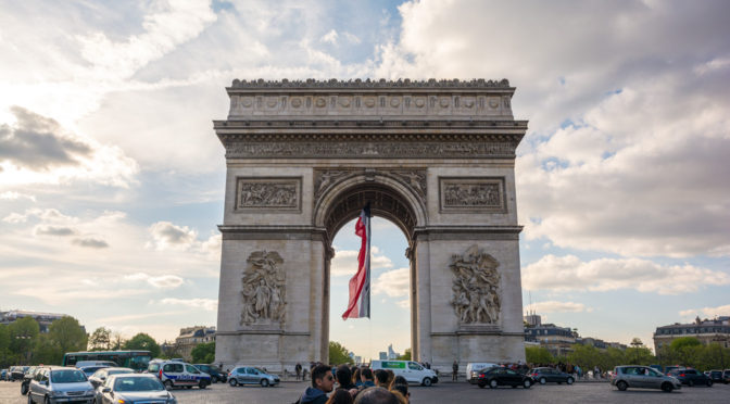 l'Arc de Triomphe, Paris, France