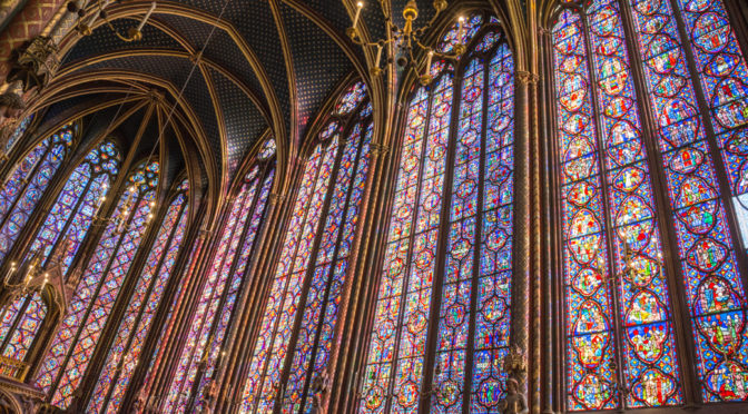 St Chapelle, Paris, France
