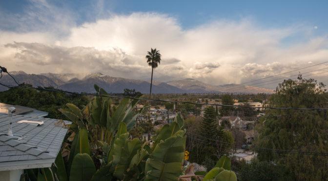 San Gabriel Mountains, Alhambra, CA