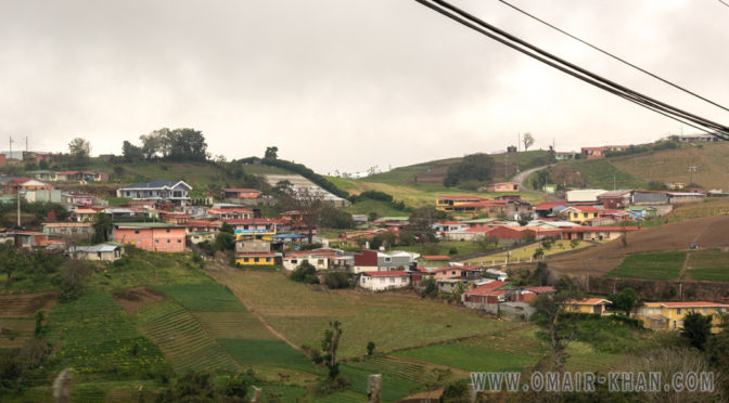Zarcero to La Fortuna, Alajuela, Costa Rica